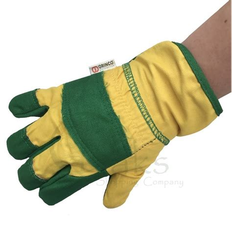childrens gardening gloves childrens forest school gloves greenman bushcraft