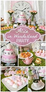 Alice in wonderland theme baby shower | Curiouser and ...