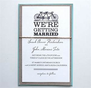 tandem bike do it yourself wedding invitations With wedding invitation for self