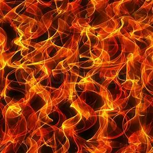 Seamless background: texture of fire ... | Stock Photo ...