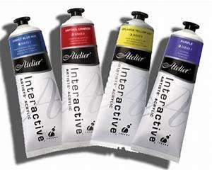 Atelier Interactive Artists Acrylic 80ml Tubes Series 6