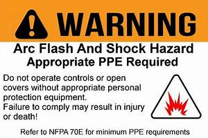 Arc flash calculation software and short circuit analysis for Generic arc flash labels