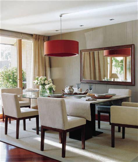 iluminar el comedor decorar casas