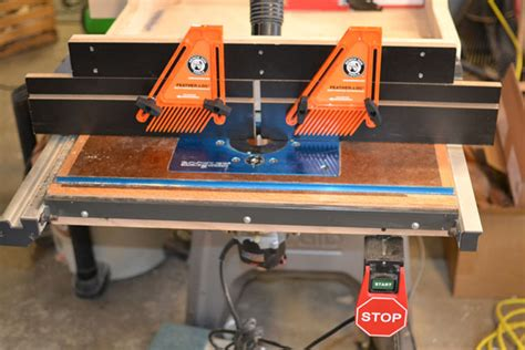 router table  fence  ridgid   bobmedic
