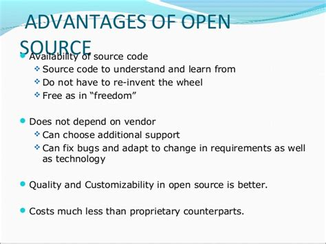 open source technology