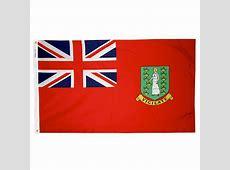 4 x 6ft British Virgin Island Flag Red