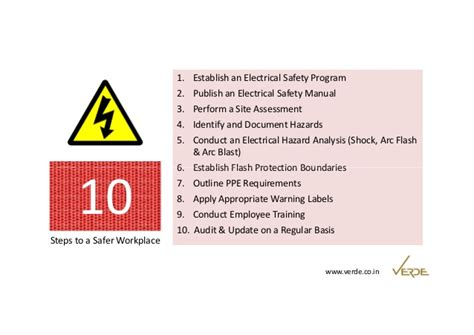 control electrical safety risk