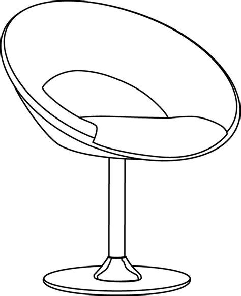 instruments de cuisine coloriage un fauteuil design dory fr coloriages