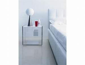 Table De Chevet Transparente : table de chevet transparente design en image ~ Melissatoandfro.com Idées de Décoration