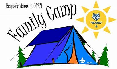 Scout Cub Camp Clipart Camping Campout Hiking