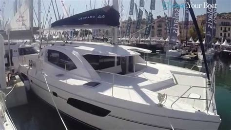 Catamaran Translation In English by Leopard 44 Guided Tour Video In English Youtube