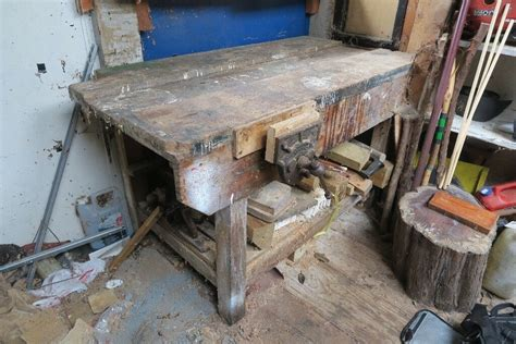 woodwork workbench joiners carpenters handyman workshop