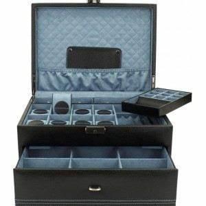 Boite A Montre Homme : boite cravates montres bijoux homme onyx cu achat vente organisateur v tement soldes ~ Teatrodelosmanantiales.com Idées de Décoration