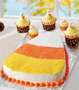 Candy Corn Cake Treats from @joannstores. Make one giant ...