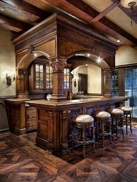 Home Bar Makeover by Rich Wooden Bar Home Bar Designs Bars For Home Pub