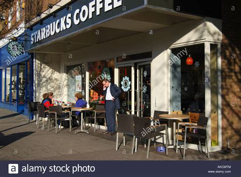 Starbucks Coffee House, High Street, Cobham, Surrey Starbucks Iced Thai Coffee Ground Type For Pour Over Syns Can You Get Blended Best Maker Keurig Combo To Go Cup Stool Mold