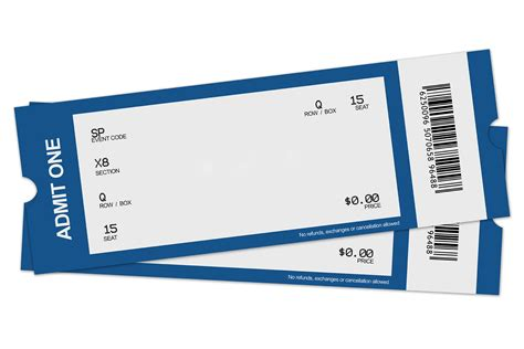 ticket stub template image blank ticket png clipart best