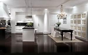 Modern kitchen classic interior design decoseecom for Modern house interior design kitchen