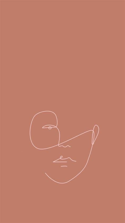 wallpaper formas cara print minimal minimalist