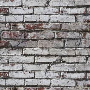 Mur Brique Blanc : briques peintes en blanc museumtextures ~ Mglfilm.com Idées de Décoration