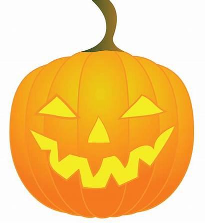 Lantern Jack Clip Clipart Pumpkin Mouth Evil
