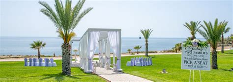 weddings  king evelthon beach hotel  resort  cyprus