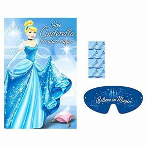 Cinderella Glass Slipper Game - To Taste Themes