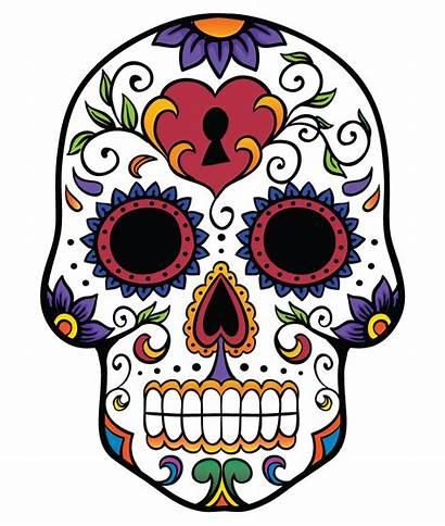 Skull Sugar Clipart Skulls Mexican Clip Candy
