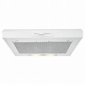 Hotte Avec Filtre : hotte ariston casquette avec filtre charbon 60 cm blanc ~ Premium-room.com Idées de Décoration