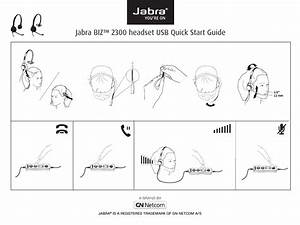 Jabra Biz 2300 Headset Usb User Manual