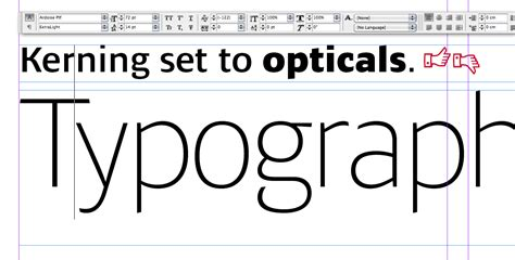 opinions on kerning