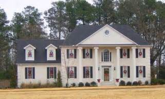 colonial revival house plans colonial style house plans 2537 square foot home 2 story 4 bedroom and 3 bath 2 garage
