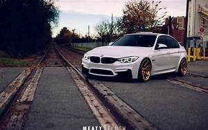BMW M3 BMW Railroad White Car 4k Ultra HD Wallpaper 1 - 4K