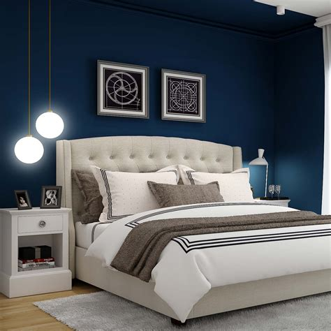 This is a great idea for anyone who wants to add texture and depth to an accent wall without covering it with. 9 Latest Bedroom Wall Design Ideas | Design Cafe