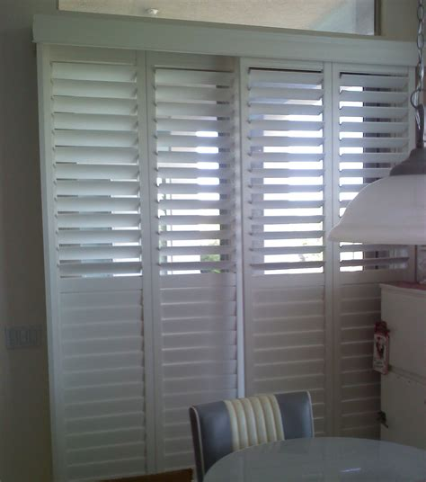 questions about plantation shutters sliding patio doors