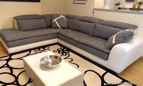 Limousine Recliner Bicolor Sofa