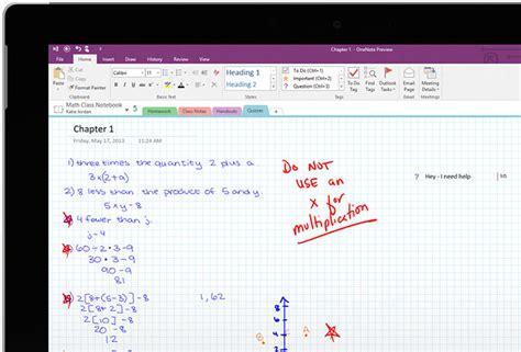 onenote microsoft education