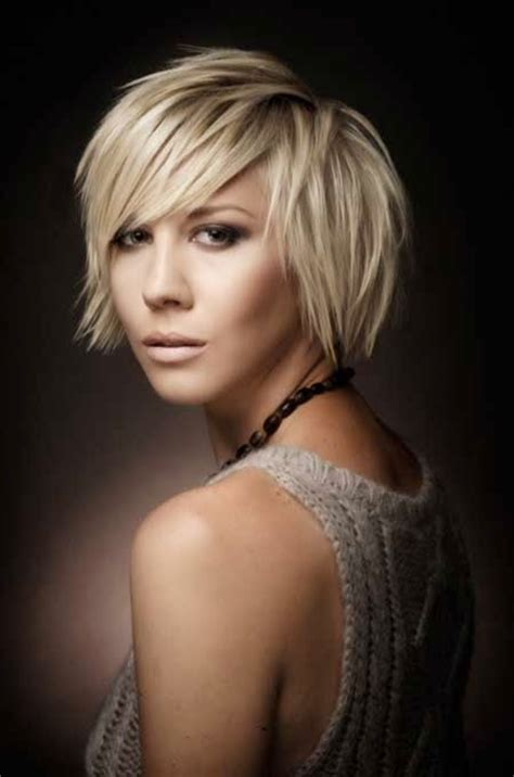 Short Blonde Hair With Purple Highlights Thin