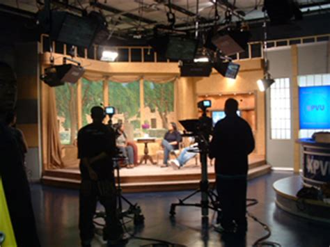 television studio lab digital integrated remote