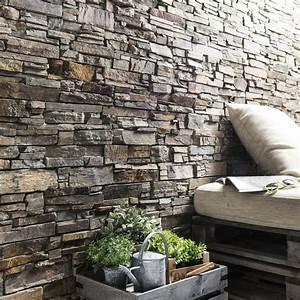 Parement Salle De Bain : plaquette de parement pierre naturelle multicolore ~ Dailycaller-alerts.com Idées de Décoration