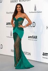 Irina Shayk Strapless Dress Irina Shayk Looks StyleBistro