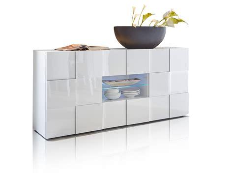 Damiro Sideboard Kommode Highboard Wohnzimmer Dekor Weiß
