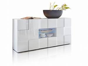 Sideboard Mit Füßen : damiro sideboard mit 2 t ren und 2 schubk sten weiss ~ Sanjose-hotels-ca.com Haus und Dekorationen
