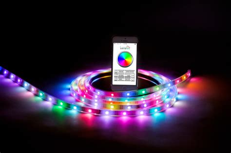 First Bluetooth Controlled Smart Led Lighting Strip