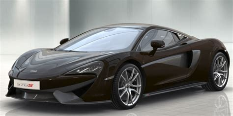 mclaren automotive    colors