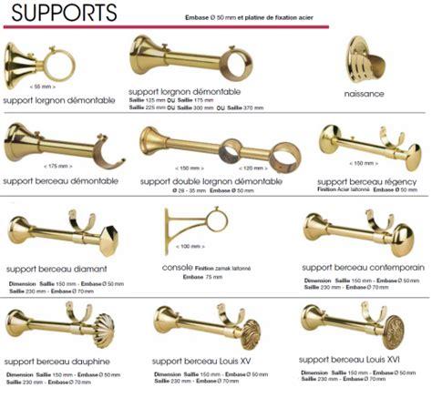 support pour tringle a rideaux tringles 224 rideaux quot classique quot decolotel fr