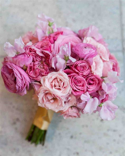 favorite rose wedding bouquets martha stewart weddings