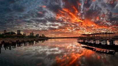 Wallpapers Desktop 1440 2560 Hintergrund Sunset Stadt