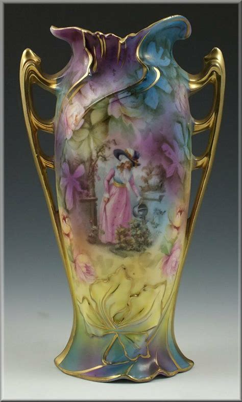 Rs Prussia Vase by Lovely Rs Prussia Handled Vase W Ebay