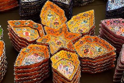 Turkish Ceramics Colorful Pottery Decorative Decor Bowl